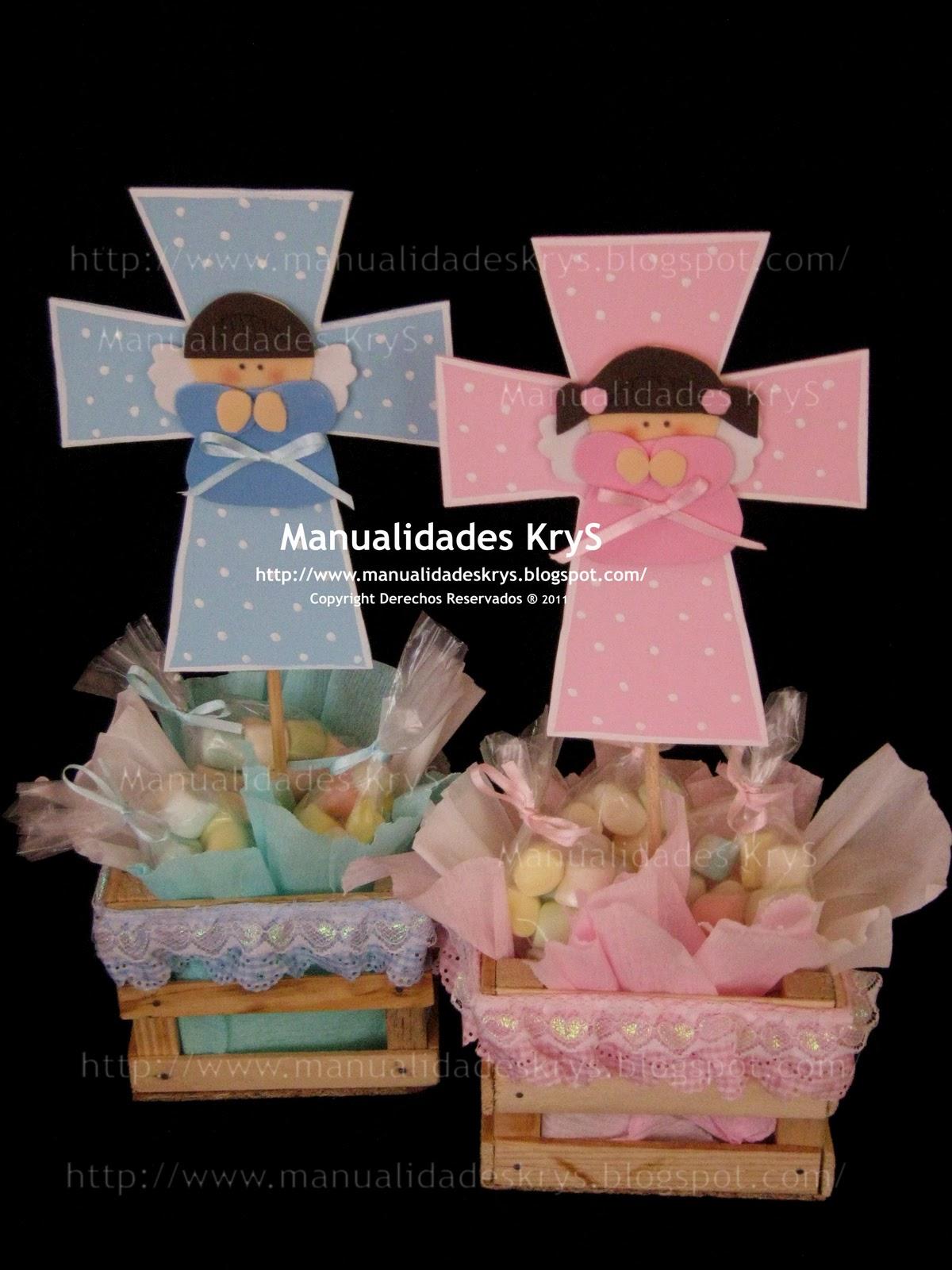 Centros de mesa para bautizo de angeles for Mesas de centro