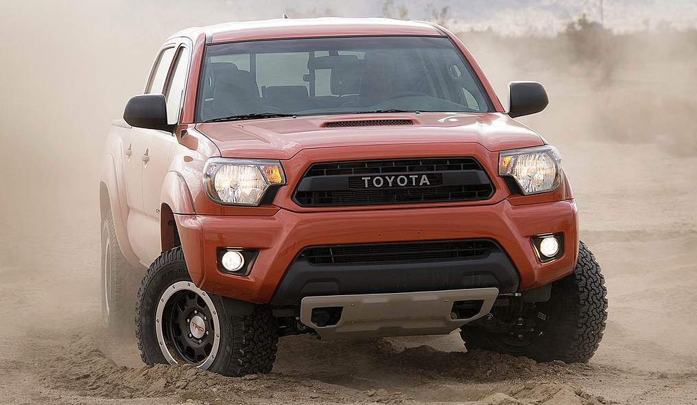 2014 Toyota Tacoma Pro-Series TRD red