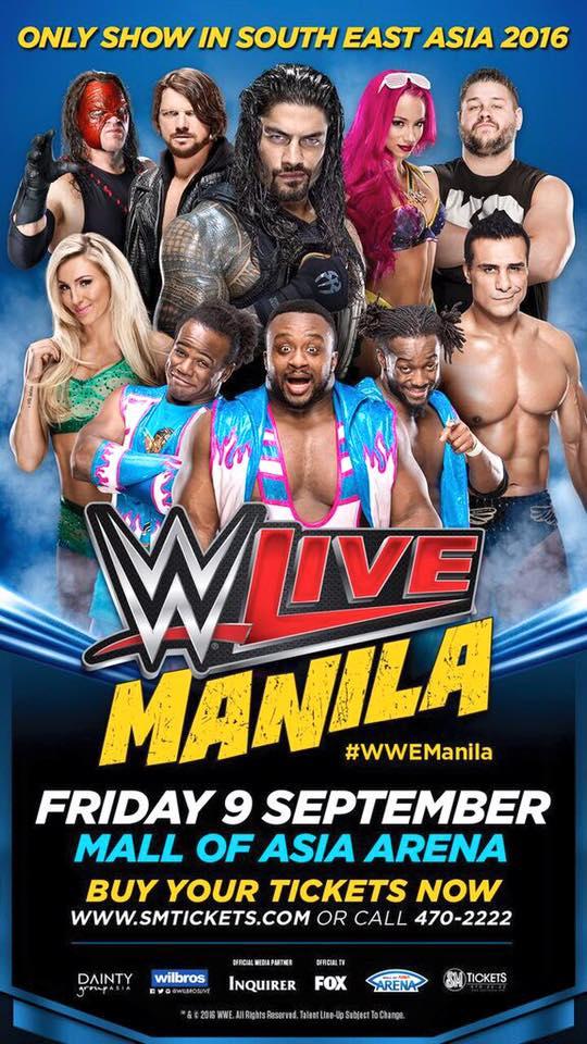 WWE Live! Manila 2016