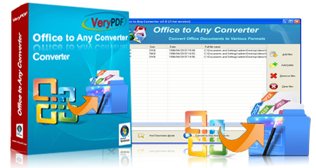 VeryPDF Office To Any Converter