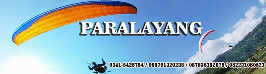 Paralayang di Malang