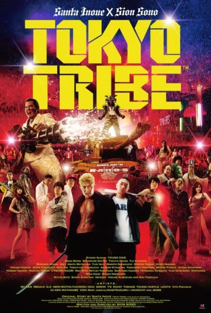 TOKYO TRIBE (2014) movie review by Glen Tripollo