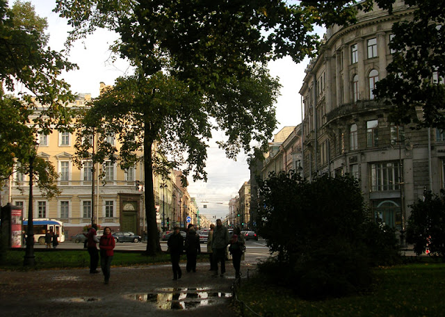 Невский проспект, Александровский сад, Санкт-Петербург
