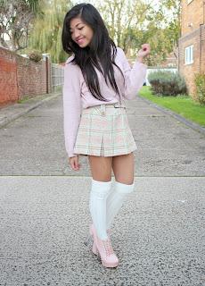 My Adorable Tartan Skirt