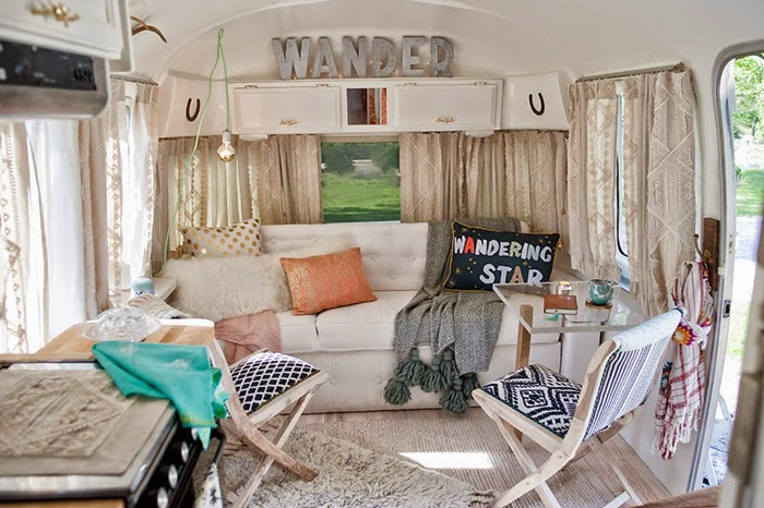 airstream, vintage, anthropologie