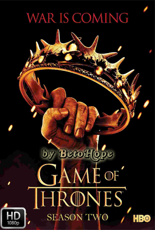 Game Of Thrones Temporada 2 [1080p] [Latino] [MEGA]