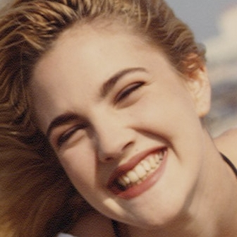 Drew Barrymore smile