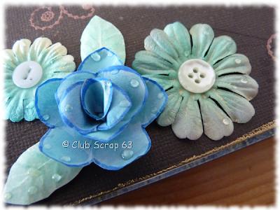 Fleur papier fait main