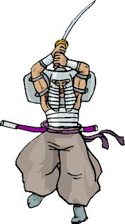 Samurai Man Free Clipart