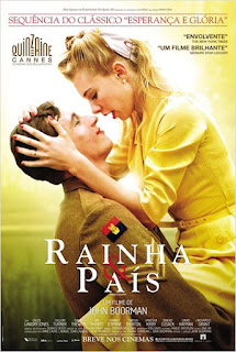 "Poster do filme ""Rainha e País"""