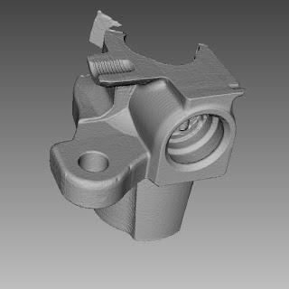 El escáner 3D SPIDER captura piezas muy pequeñas a máxima resolución