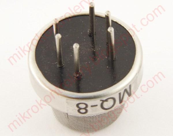 Czujnik typu MQ - widok pinów