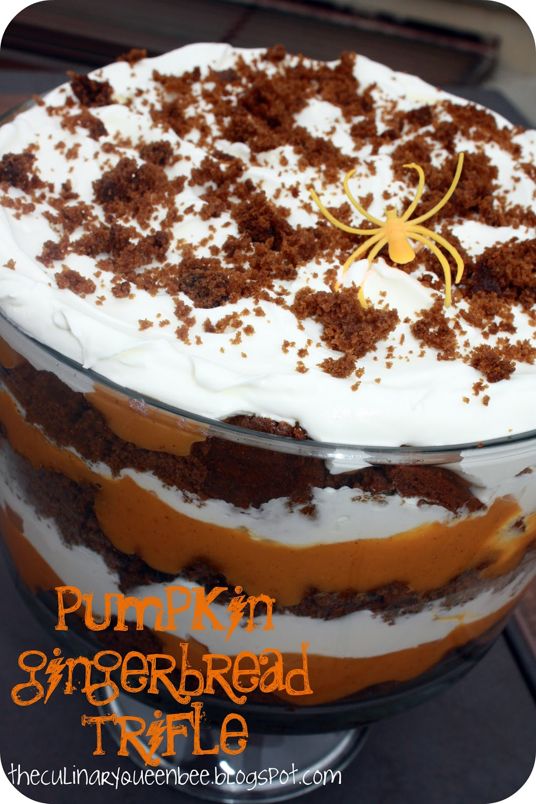 The Culinary Queen: Pumpkin Gingerbread Trifle