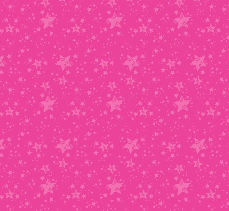 Fondo rosa con estrellas.