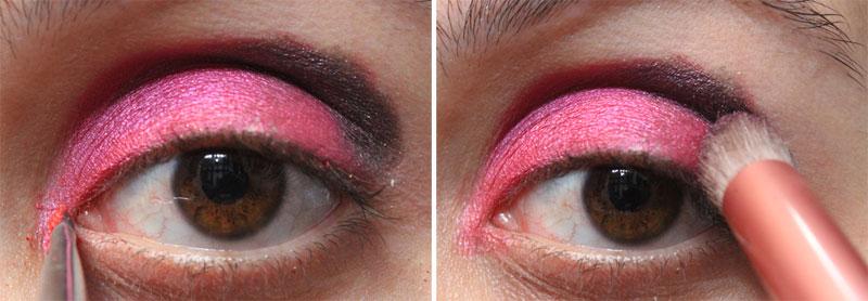 4 Tutorial de Maquiagem: Rosa e Roxo   Pink Gloss