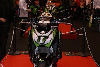 La Kawa Z750 de la nueva Kawa Cup tiene un aspecto super racing