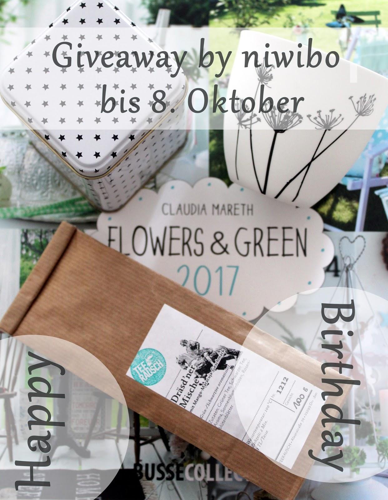 Giveaway bei niwibo