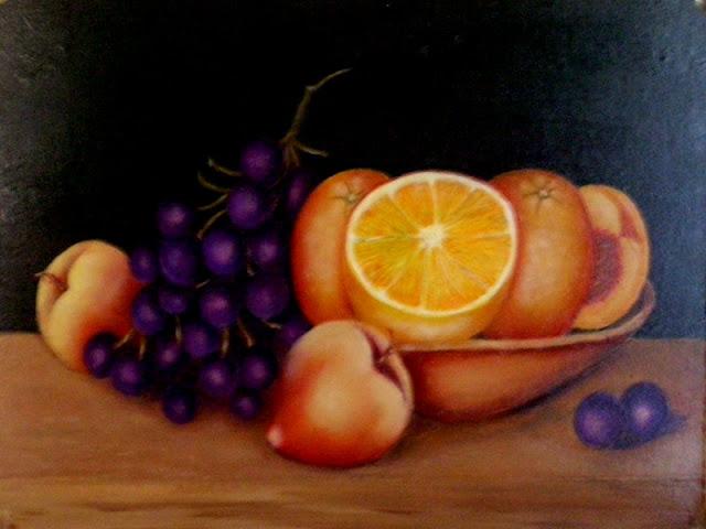 Naturaleza muerta frutas