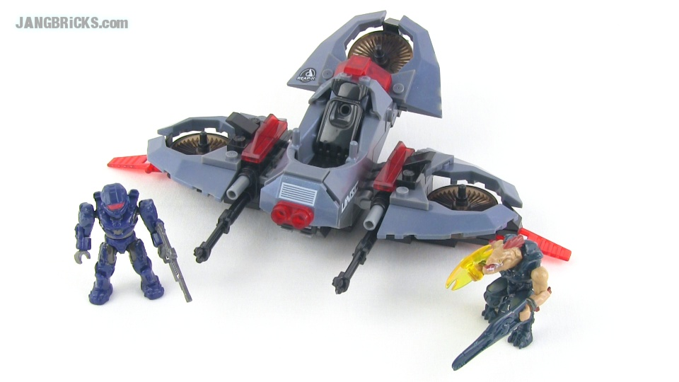 Mega Bloks Halo Oni Reap X Set Reviews Siege Bike Light Vtol