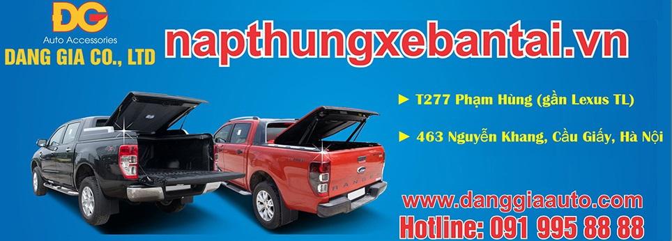 Nắp thùng Canopy xe bán tải 2015 2016