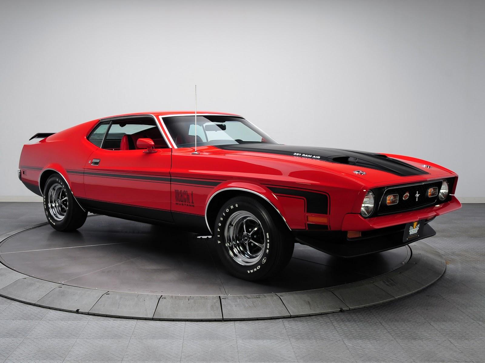 1971 72 regular 351 mach 1