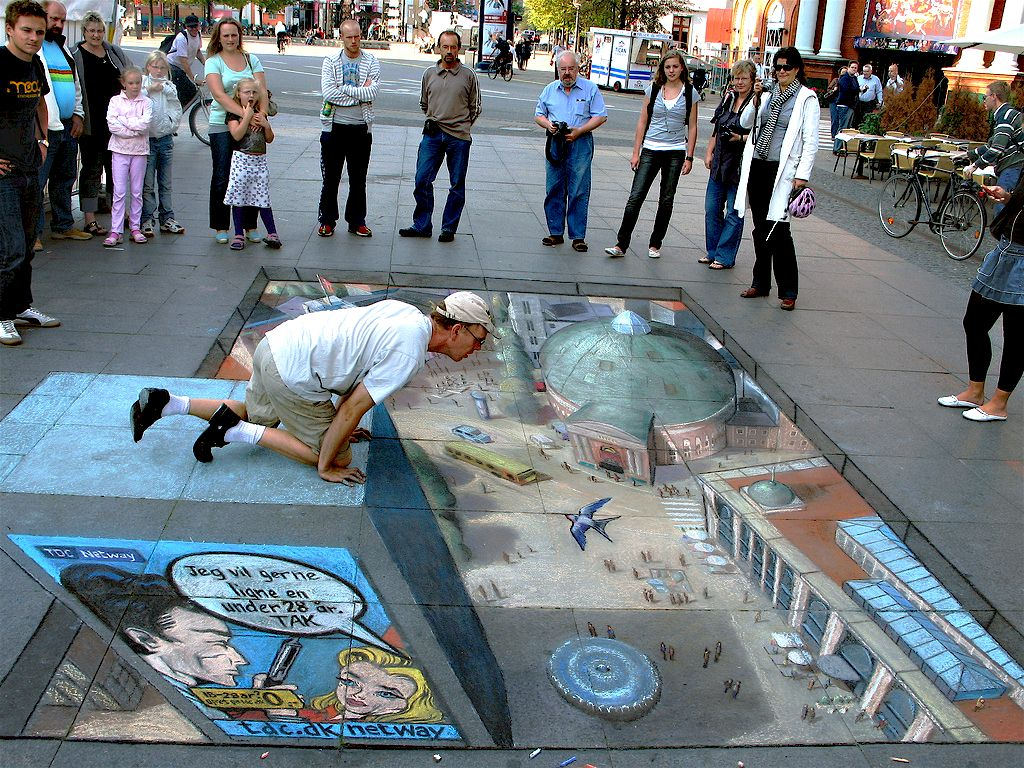 3D Street Arts Street Art 3D Art 3D