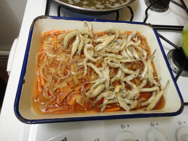 Ma vraie cuisine japonaise petits poissons frits et - Ma vraie cuisine japonaise ...