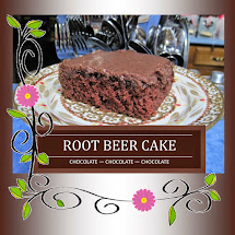 Chocolate Root Beer Cake