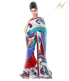 Saree Design For This Year Eid+(2) Eid Collection Saree Design
