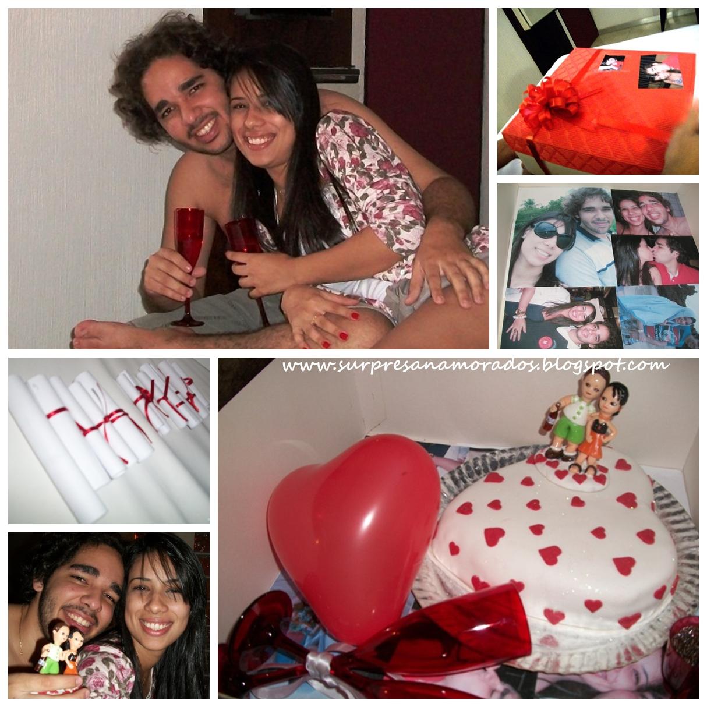 Todas as fotos foram tiradas do Blog Surpresas para namorados