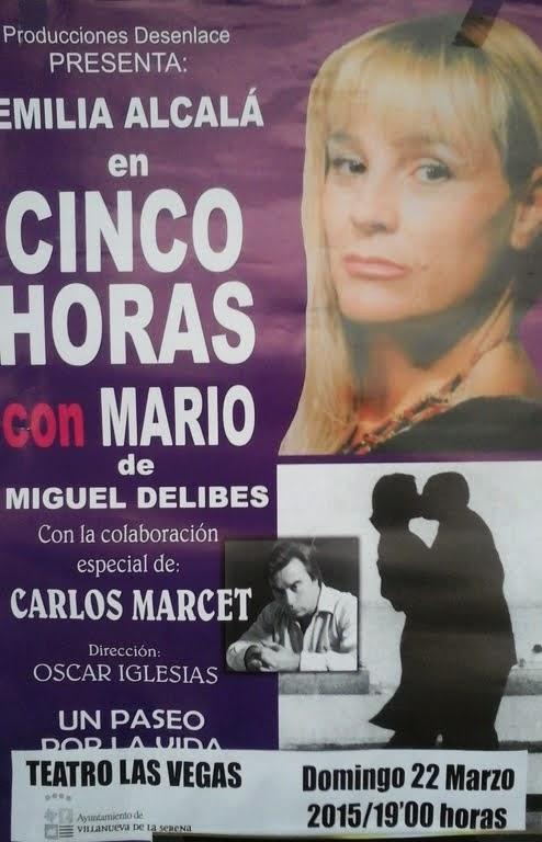 Teatro:Cinco horas con Mario
