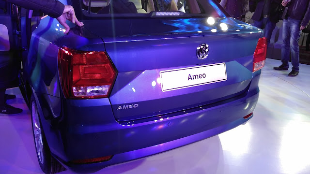 Volkswagen Ameo World Premiere India