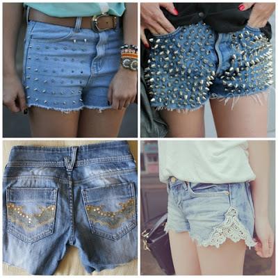 short-jeans-com spike-tacha-e-renda