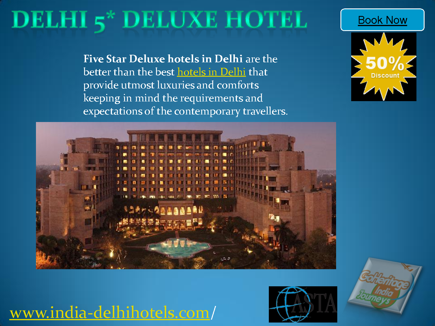 New Delhi Luxury Hotels