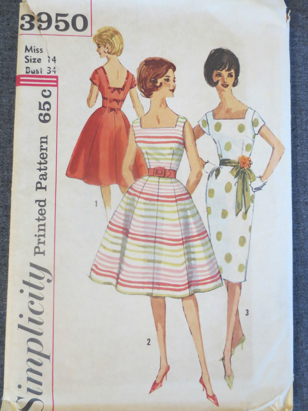 Simplicity 3950 via Brentwood Lane