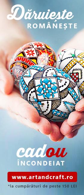 Produse cu tradiție de la Art&Craft made in România