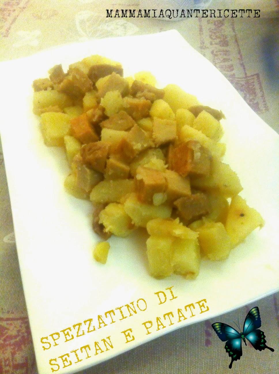 spezzatino di seitan e patate