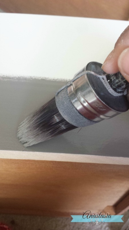 painting General Finishes Driftwood Milk Paint Cling On Brush