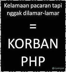 kata dp bbm php