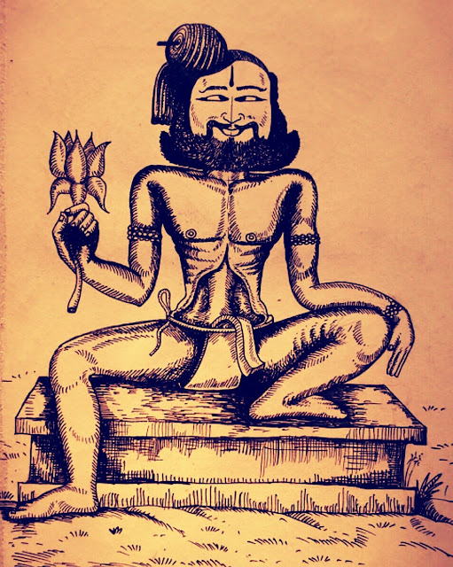 """18 Siddhars, the celebrated yogis of South Indian Hinduism.  Also known as Goraknath amongst the Navnath yogis, Korakkar wrote verse texts on medicine, philosophy and alchemy. Agathiar and Bogar were his guru s. Agathiyar is said to have given Korakkar is the duty of safeguarding the secrets of alchemy: the student of alchemy must worship Korakkar and seek his grace to excel in the field.  His Jeeva temple is in Vadukupoigainallur of Nagapattinam district of Tamil Nadu. Other sanctums related with Korakkar are m.Parur,near viruddhachalam in cuddalore district Thiruchendur and Triconamalli. Korakkar caves are found in Chaturagiri and Kollihills. There is a legend about korrakkar sidhar in south india, kanyakumari district, susendram taluk, akkarai village.  It was the legend passed on to generations of a groups of people with caste """"Yogeeswarar"""", that korrakkar sidhar is their guru.  Long long back korrakkar sidhar came to this akkarai village and stayed with these people called yogeeswarar as their guru. When korrakkar sidhar wished to leave them, the sad group followed him for some miles till korrakkar sidhar entered a small lord shiva temple for meditation at a village called korrandy. The long awaiting group in front of the temple finally decided to check for korrakkar sidhar inside the temple and they all were surprised on not finding him there.  They believed that this is the samadhi of korrakkar temple and still conducting workships. Though now the temple is in bad shape all believe that the tamilnadu government will renew the temple."""