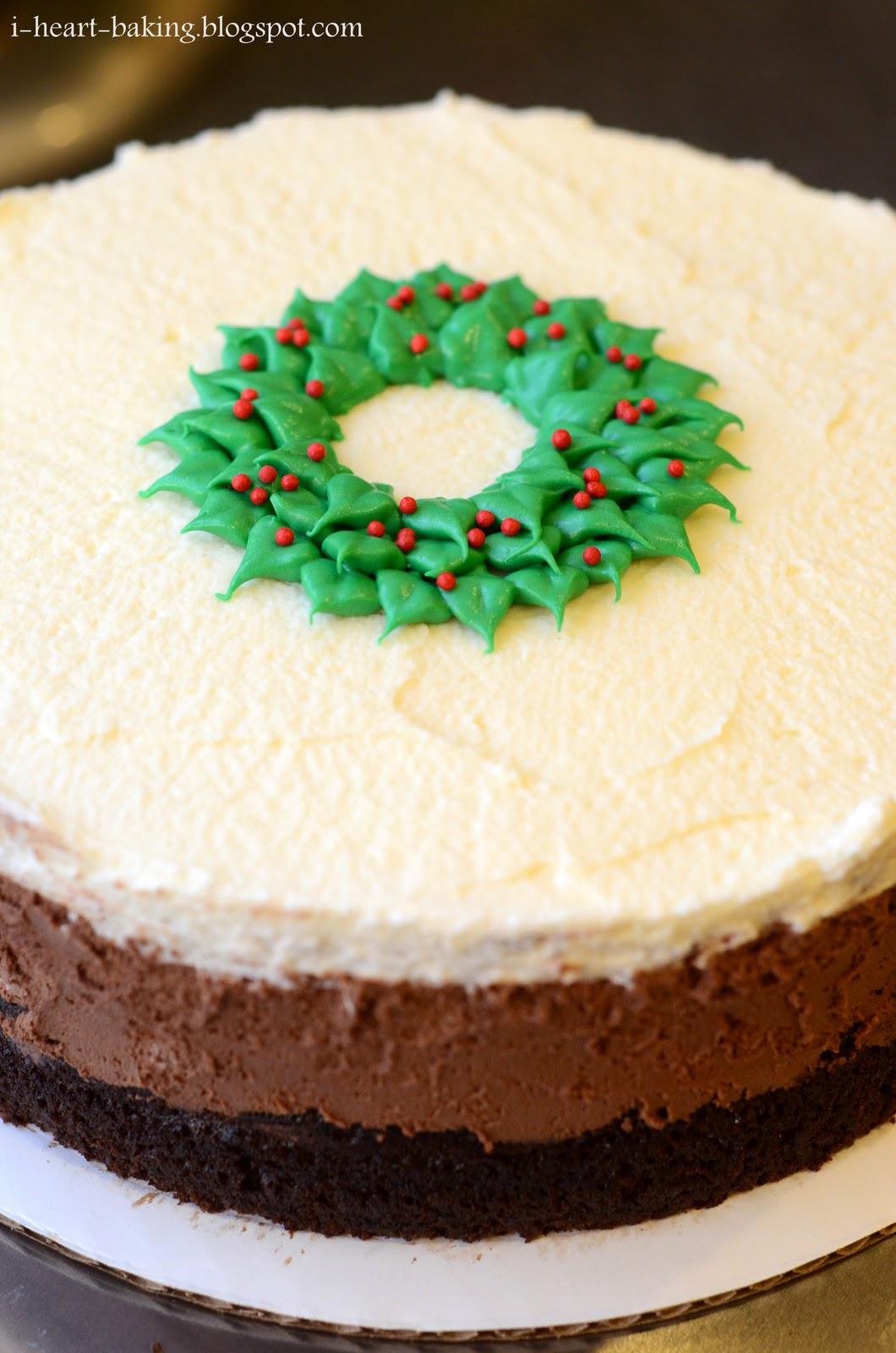 chocolate cake christmas desserts