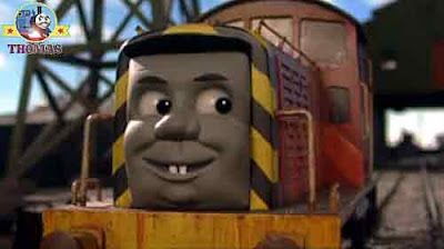 Big Henry the tank engine Yo-ho Yo-ho my hearties said Thomas and friends Salty the seaside train