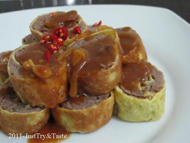Resep masakan rolade daging sapi