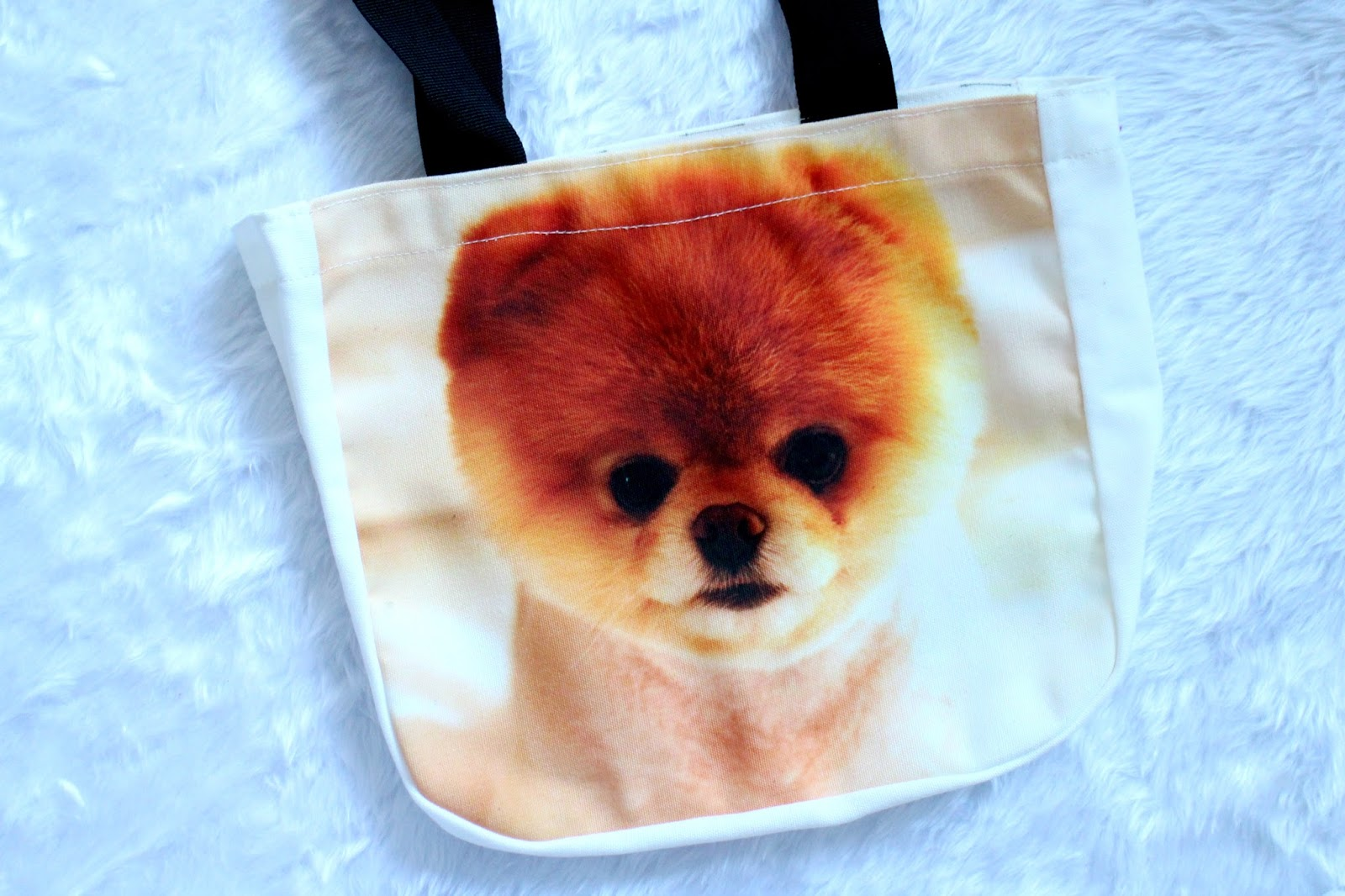Boo The World's Cutest Dog Tote Bag