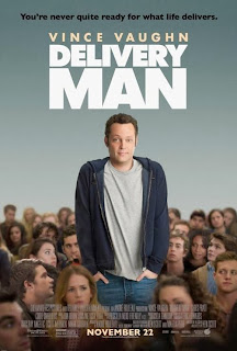 Delivery Man, starring Vince Vaughn; movie poster