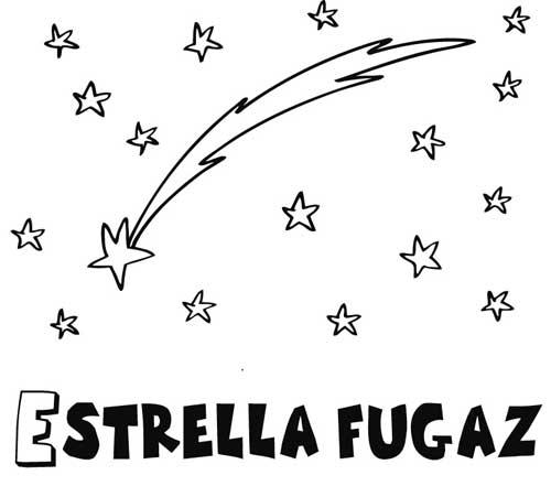 Estrellas fugaces animadas para colorear imagui for Estrella fugaz navidad