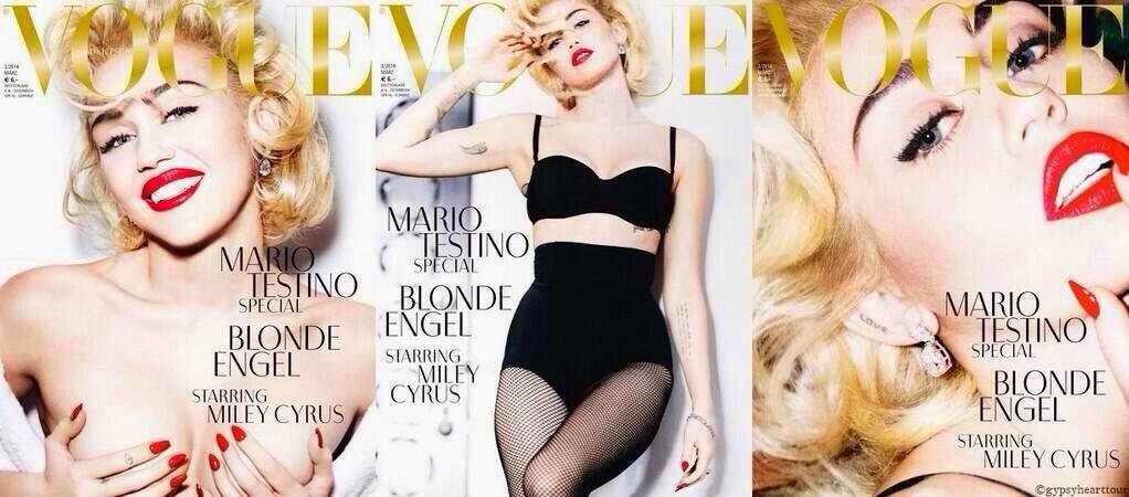 Miley cyrus german vogue 2014 photoshoot 5