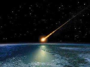Meteor Hantam Atap Rumah Warga
