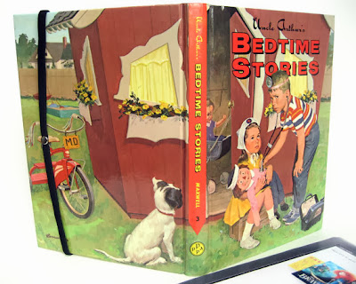 retro kids book made into tablet case