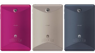 Huawei MediaPad tablet with Android 4.0, new color series 2